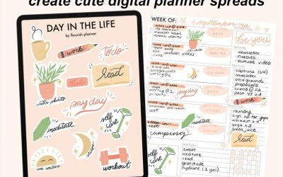 How to Create Digital Stickers for Goodnotes Using Procreate